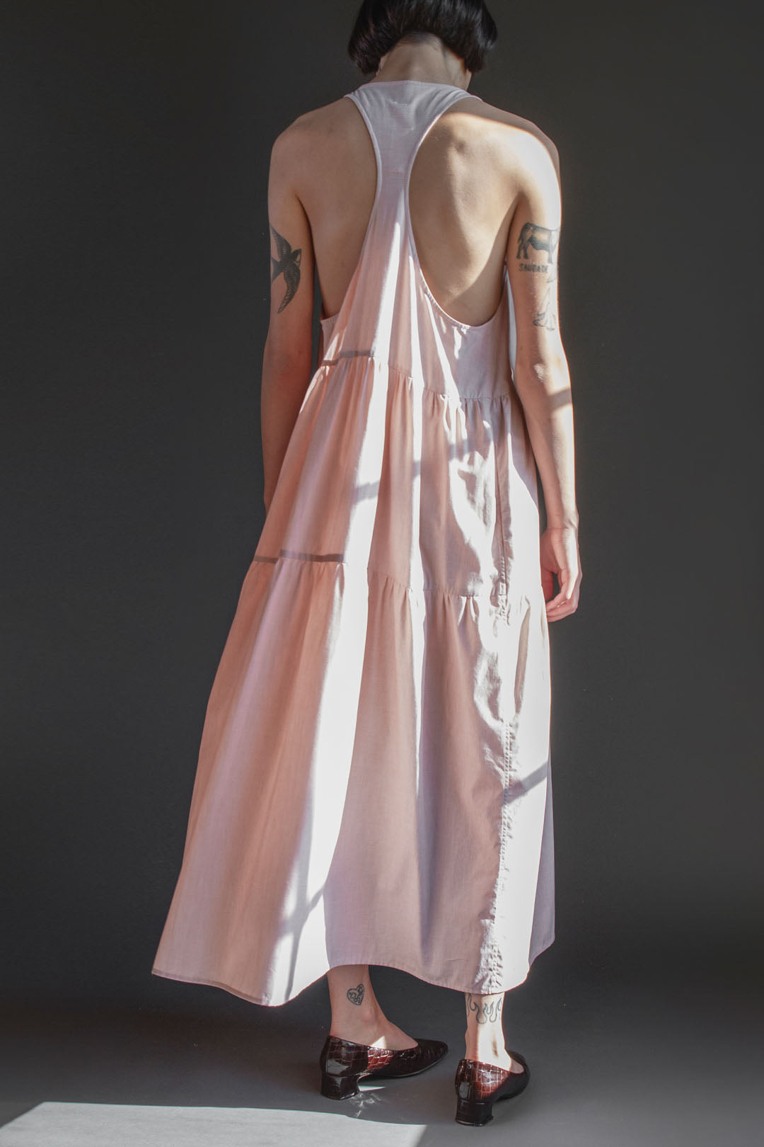 Josephine Nightdress in Pink Sand