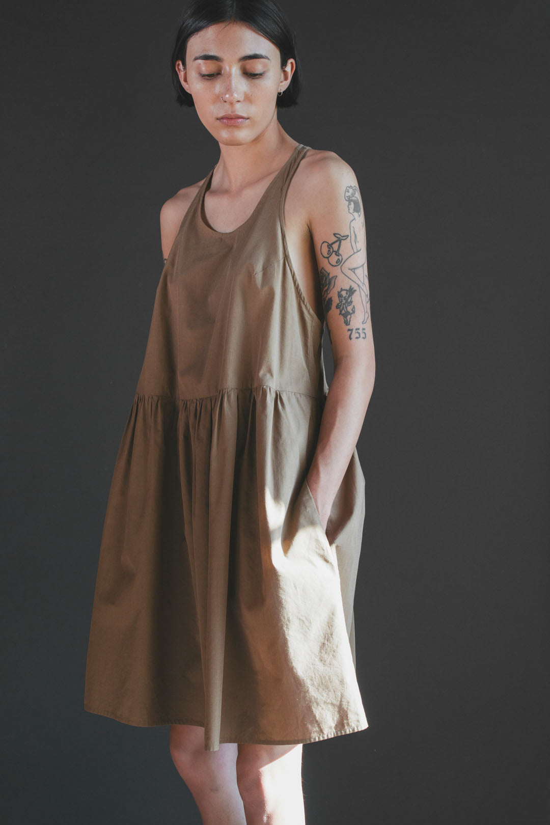 Cecelia Nightdress in Earthen
