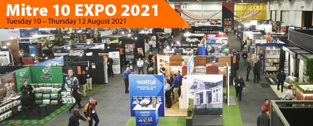 Bar's Bugs at the Mitre 10 EXPO 2021 - exhibitor display 3x3