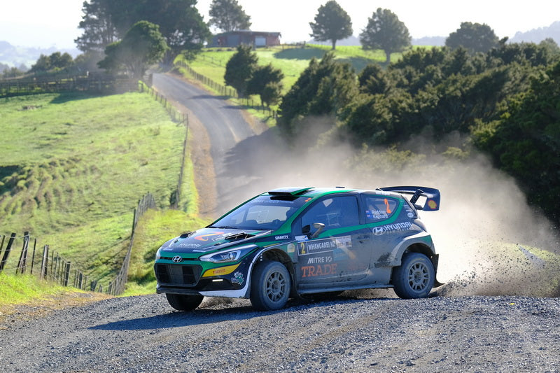 Hayden and Kennard demonstrate speed with Whangarei Rally win
