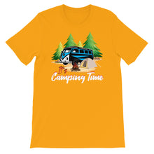 Load image into Gallery viewer, IT'S CAMPING TIME PRINTED T-SHIRT