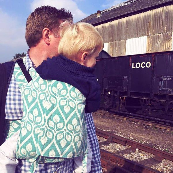 loco locomotive onbuhimo yaro conversion la vita buckle onbuhimo front carry dad sling carrier sling library sling hire rent try before you buy woven wrap conversion pregnant tandem toddler