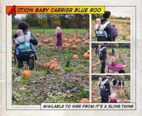 Action Baby Carrier Blue Roo