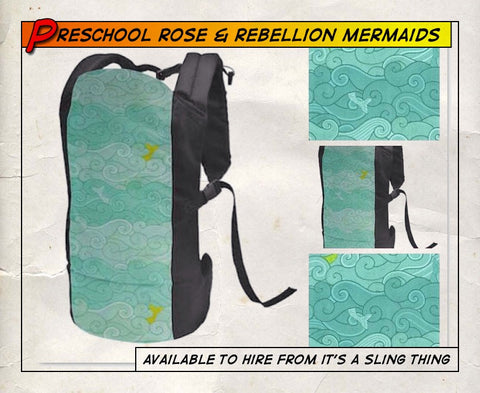 Pre Schooler Rose and Rebellion A Mermaid's Tail