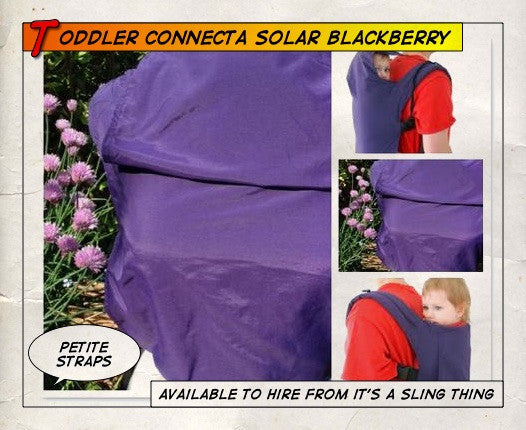 Toddler Connecta Solar Blackberry (Petite Straps)