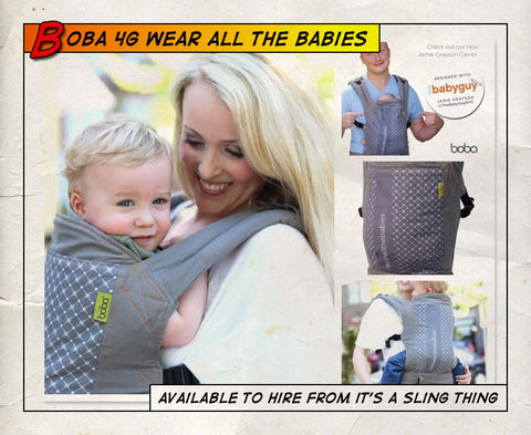 Boba 4G Wear All The Babies