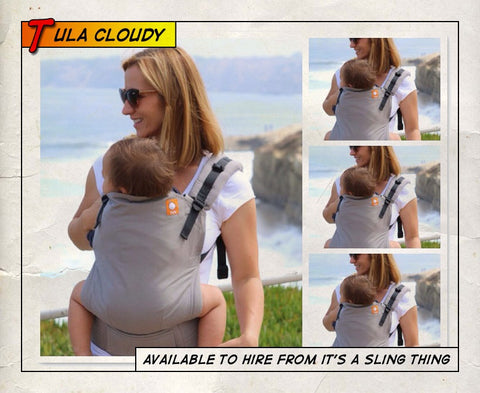 Toddler Tula Cloudy