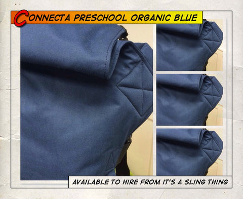 Preschool Connecta Organic Blue