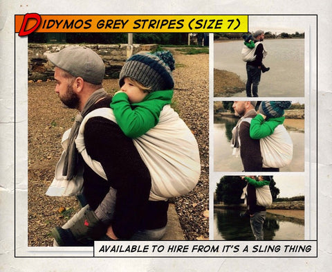 Didymos Standard Stripes Grey (Size 7)