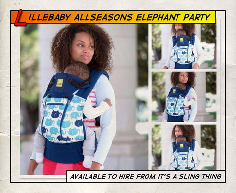Lillebaby All Seasons Elephant Party