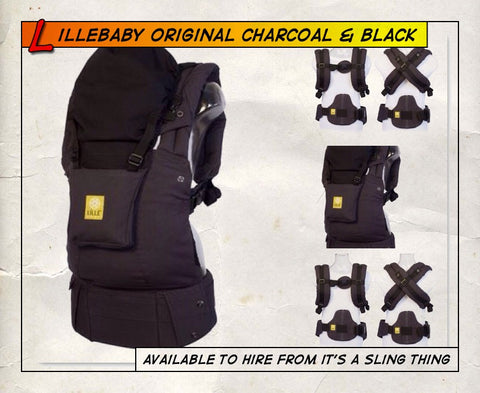 Lillebaby Original Charcoal / Black