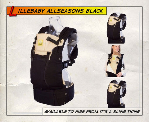 Lillebaby All Seasons Black