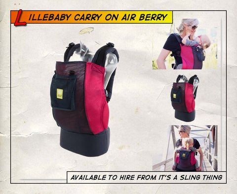 Lillebaby CarryOn Air Berry