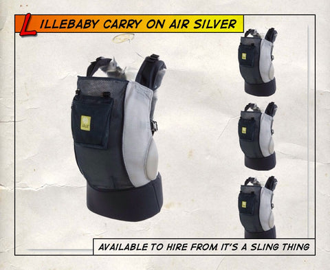 Lillebaby CarryOn Air Silver