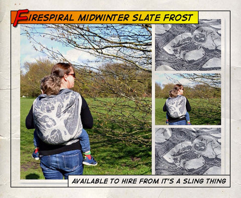 Firespiral Midwinter Slate Frost (Size 4)