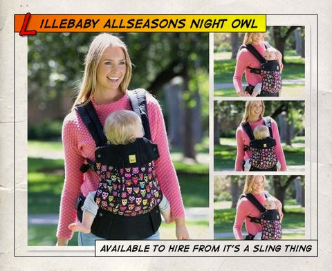 Lillebaby All Seasons Night Owl