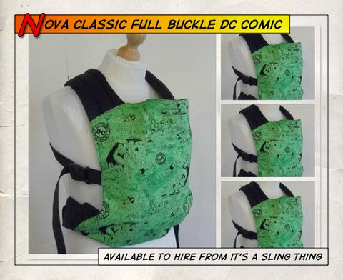 Nova Classic Full Buckle DC Comics Green