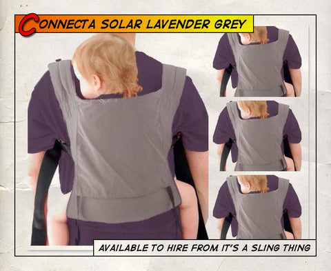 Connecta Solar Light Lavender Grey