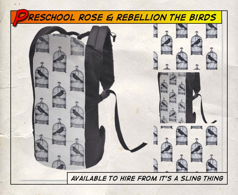 Pre Schooler Rose and Rebellion The Birds