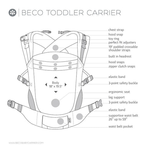 Beco Toddler Plus One