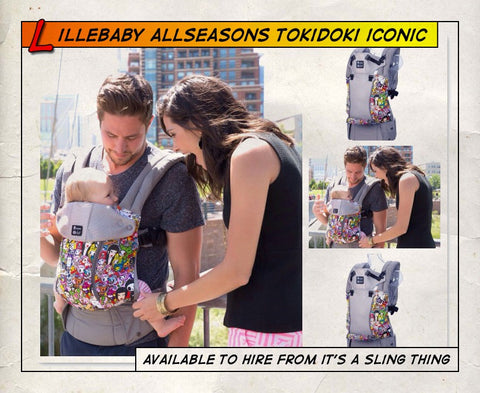 Lillebaby All Seasons Tokidoki Iconic