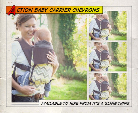 Action Baby Carrier Chevrons