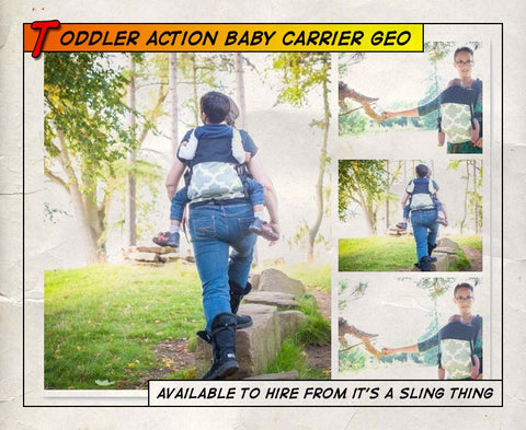 Toddler Action Baby Carrier Geo