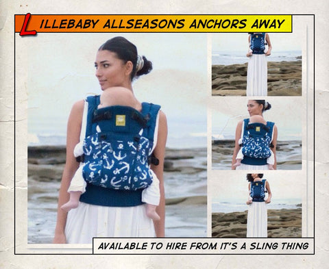 Lillebaby All Seasons Anchors Away