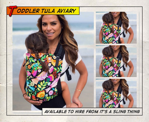Toddler Tula Aviary