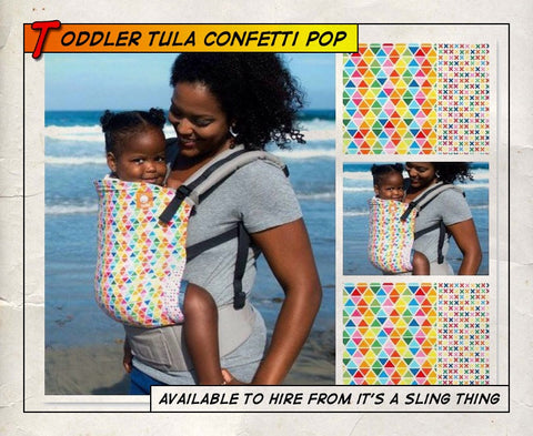 Toddler Tula Confetti Pop