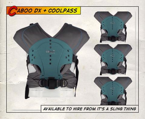 Close Coolpass Caboo dx+ -Teal (Ex-Rental Stock)