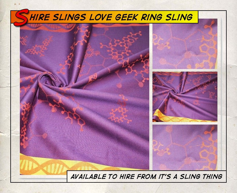 Shire Slings Love Geek Ring Sling