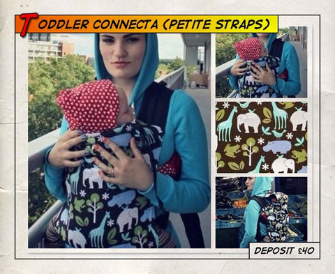 Toddler Connecta Zoolology (Petite Straps)