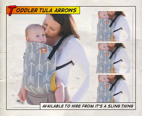 Toddler Tula Arrows