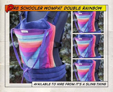 Preschooler Wompat (Double Rainbow Purple)