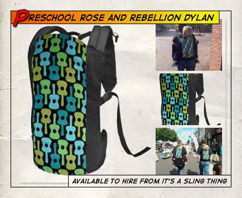 Pre Schooler Rose and Rebellion The Dylan