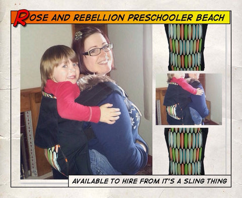 Pre Schooler Rose and Rebellion Life's A Beach