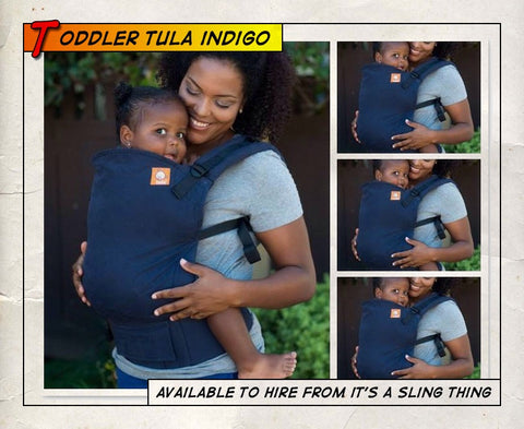 Toddler Tula Indigo