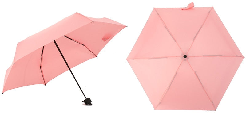 Must-Have Adorable Mini Pocket UV Umbrella