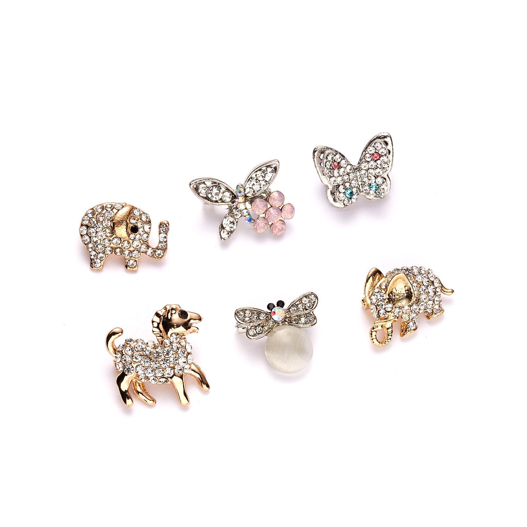 Rhinestone Pins and Brooches