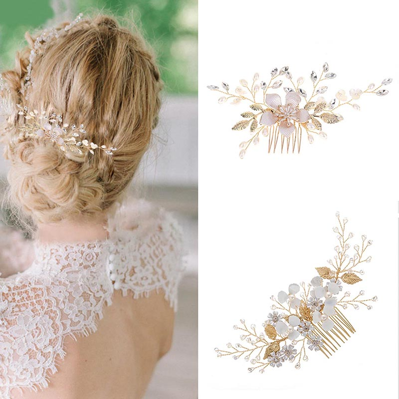 Flower Decoration Hair Piece