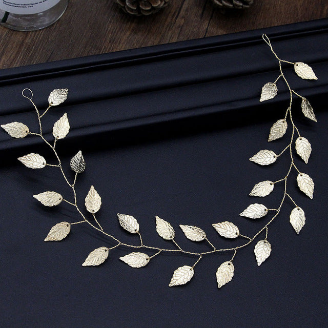 Simple Leaves Vine Hairband