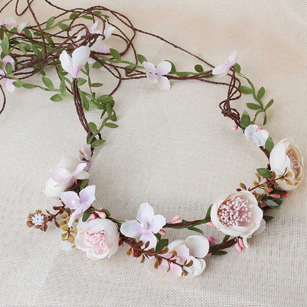 Crown Floral Hair Piece