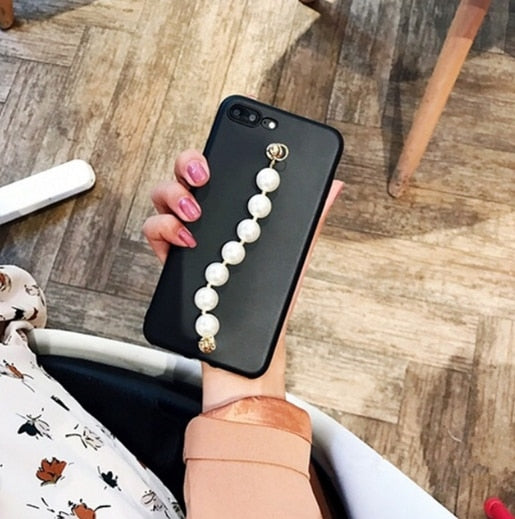 Pearl Chain Phone Case- iPhone