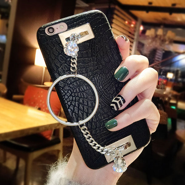 Bracelet Faux Python Skin Phone Case- iPhone