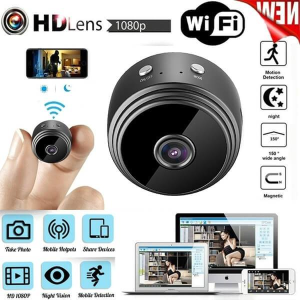 (60% OFF only Today) A9 WiFi 1080P Full HD Night Vision Wireless IP Camera