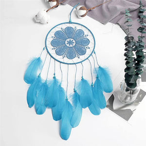 Dream catching handmade wind chimes