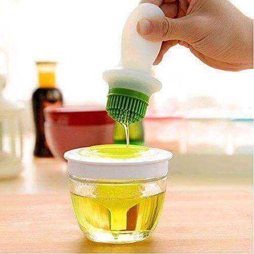 3-in-1 Silicone Oil Bottle Brush