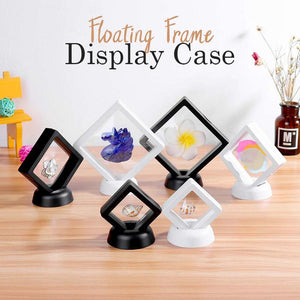 30% Off-Floating Frame Display Case