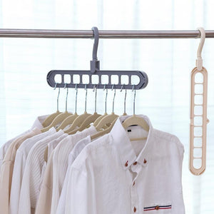 Multi-port Support Circle Clothes Hanger Clothes